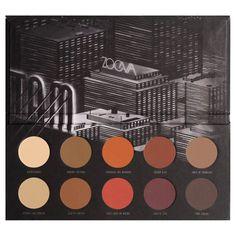 Matte Palette - Palette d'ombres a paupières mattes de ZOEVA sur Sephora.fr