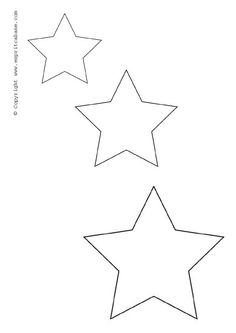 Free Printable Star Templates For Your Art Projects Use These
