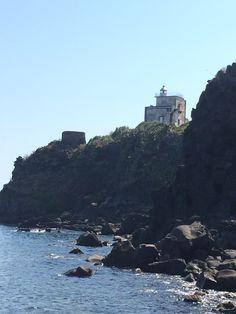 Faro di Capomulini, Timpa di Acireale. Sicily