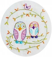 Owl Be Your Friend Embroidery Pattern PDF