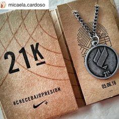 #Medallas Nike Women Victory Tour Buenos Aires 2016 Felicitaciones! @micaela.cardoso  #miprimermediamaratón #21k #undesafiomas #nike #crecebajopresion #nikewomenvictorytour2016 #nikebue #nikewomenvictorytour #running #run #instarun #instamoments #correr