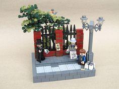 Vignette   History  Victorian Street   by -Wat- https://www.flickr.com/photos/41449996@N04/15059670240/sizes/l
