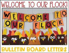 Thanksgiving turkey classroom decoration kindergarten craft