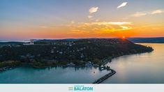 20 varázslatos naplementés drónfotó Tihanyról | CsodalatosBalaton.hu River, Celestial, Sunset, Outdoor, Outdoors, Sunsets, Outdoor Games, The Great Outdoors, Rivers