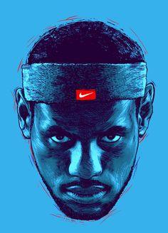 Various tee shirt artworks for Nike.
