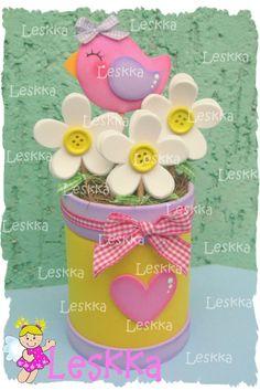 Kids Crafts, Tin Can Crafts, Foam Crafts, Preschool Crafts, Easter Crafts, Diy And Crafts, Arts And Crafts, Bird Birthday Parties, Diy Ostern