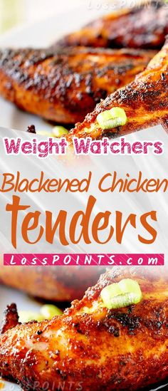 Have you ever tried the blackened chicken tenders from Popeyes? I used to get them often when I lived in California. They are low carb Ww Recipes, Quick Recipes, Chicken Recipes, Cooking Recipes, Healthy Recipes, Healthy Foods, Weight Watcher Dinners, Weight Watchers Diet, Weight Watchers Chicken