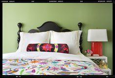 bolster; color - Betsy Burnham