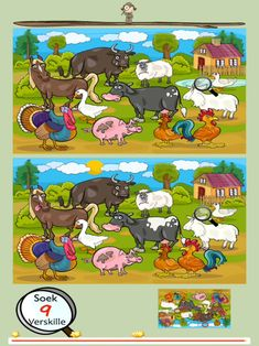 Soek 10 verskille on the App Store English Activities, Preschool Learning Activities, Fun Activities, Learning English For Kids, Kids English, Spot The Difference Puzzle, Picture Comprehension, Free Printable Puzzles, English For Beginners