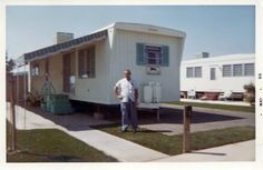 From a time when mobile homes were finely crafted. This was a high-end model.