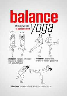 Healthy relationships 311100286757099750 - Balance Yoga Workout Source by terrienseul Yoga Routine, Gym Workout Tips, At Home Workouts, 300 Workout, Yoga Fitness, Yoga Inspiration, Finger Yoga, Yoga Training, Balance Exercises