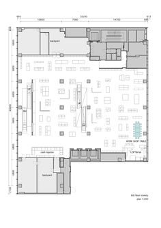 Image 18 of 19 from gallery of GINZA LOFT / Schemata Architects. Sixth Floor Plan