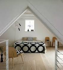 Znalezione obrazy dla zapytania come arredare camera da letto in mansarda