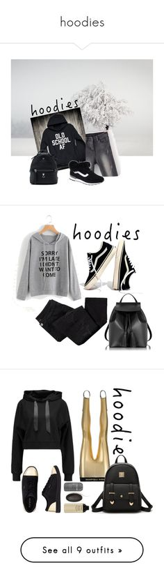 """hoodies"" by chxy ❤ liked on Polyvore featuring Fendi, Hoodies, Avon, Madewell, Le Parmentier, Paco Rabanne, WearAll, Tretorn, The Row and Topshop"