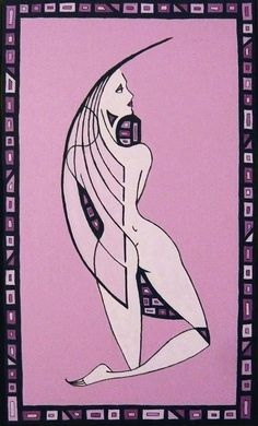Nudo di schiena (Naked back), acrylic on canvas,50x30cm, 2012