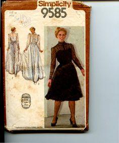 vintage gunne sax patterns 9585 - Google Search