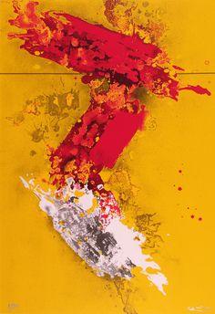 """José Manuel Círia, """"Sonho de Lisboa I"""" (Dream of Lisbon I), screenprint, 100 x 70 cm, 2004  © CPS"""