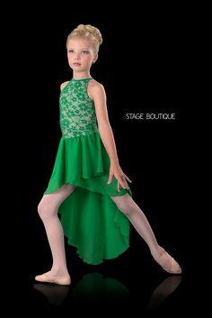 LYRICAL DRESS - LAMENT, $69, Emerald Green Lyrical Dress, Stage Boutique, www.stageboutique.com