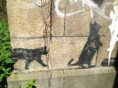 Kalender-Inspiration: Streetart bzw. Graffitis einer Stadt zu dokumentueren sind immer eine schöne Kalenderidee. Hier eine Graffiti in München.