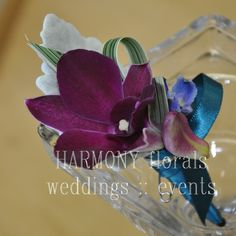#ringbearer #boutonniere #orchid Ring Bearer, Flower Girls, Orchids, Floral, Party, Flowers, Wedding, Valentines Day Weddings, Fiesta Party