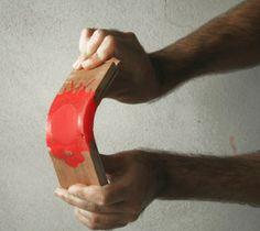 elastic wood
