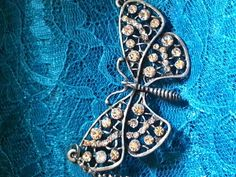 Hey, I found this really awesome Etsy listing at https://www.etsy.com/listing/224107708/costume-butterfly-necklace-with-white
