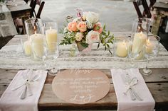 Vintage Shabby chic beautiful tablescape, cute for a simple get together with the girls. Handmade Wedding, Diy Wedding, Wedding Tables, Wedding Ideas, Garden Wedding, Wedding Details, Wedding Reception, Nashville Wedding, Sweetheart Table