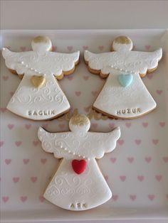 Just Believe Angels Health Peace Love Vanillacinnamon Cookies