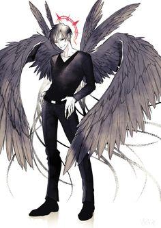 Izaya Orihara the angel of darkness