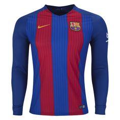 Barcelona 16/17 LS Home Soccer Jersey - WorldSoccershop.com | WORLDSOCCERSHOP.COM