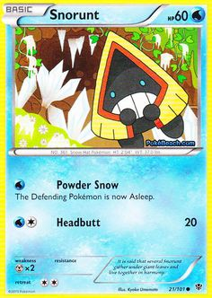 Search for Pokémon cards in the card database and manage your card collection. Black Pokemon, Cool Pokemon, Snow Hat, Deck Design, Pokemon Cards, Your Cards, 21st, Black And White, Ebay