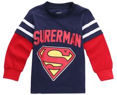 Hot Fashion 1-7 Year Superman Batman Kid Boy Cartoon O Neck Sweatshirt Hoodies Tops Long Sleeve T-shirt Baby Clothes #>=#>=#>=#>=#> Click on the pin to check out discount price, color, size, shipping, etc. Save and like it!