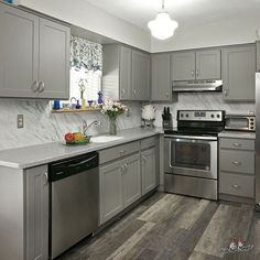 Charcoal Grey Kitchen Cabinets New Home Grey Kitchen