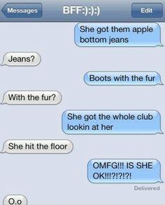 Hahahahaha. Imma do this to some friends. Lol