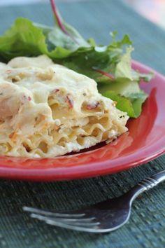 Chicken, Bacon, Ranch Lasagna-