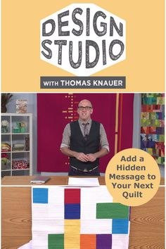 Add a hidden message to your next modern quit! Learn how when you watch Design Studio with Thomas Knauer free with your QNNtv subscription.