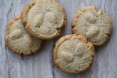 London Fog Shortbread (Earl Grey cookies)