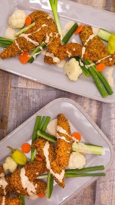 Rach's Everything Chicken Tenders with a Tahini Dipper