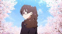 Sky Anime, Manga Anime, Blue Sky Movie, Anime Girl Brown Hair, Japanese Animated Movies, Anime Suggestions, Kyoto Animation, Animes Wallpapers, Time Travel