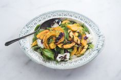 Roasted Squash, Chile, and Mozzarella Salad from The Kinfolk Table | 101 Cookbooks