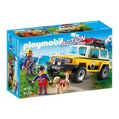 Playmobil Action - Hegyimentő - sürgősségi jármű (9128)