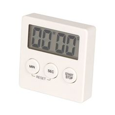 These little Muji timers come in black or white & are great for Pomodoro Technique