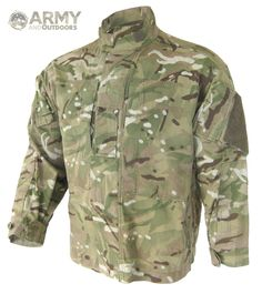 The British MTP (Multi terrain Pattern) warm weather shirt. Although the colours are the same as Multicam, MTP merges elements of the Disruptive Pattern Material (DPM).