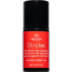 STRIPLAC NAIL POLISH 84 CHERRY CHERRY LADY