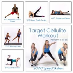 Target Cellulite Workout