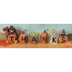 Give Thanks Blocks - TerrysVillage.com