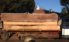 Live Edge Walnut & Live Edge Oak Slabs installed as walls for the flat bed delivery truck Flat Bed, Art Pages, Walnut Wood, Wood Work, Wood Wall Art, Truck, Walls, Delivery, Woodworking