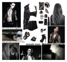 """✘ You know where you are? You're in the jungle, baby. You're gonna die. In the jungle. Welcome to the jungle, watch it bring you to your knees. ✘"" by blueknight ❤ liked on Polyvore featuring Diesel, Wolford, La Tache Bobo, Bordelle, NARS Cosmetics, Chanel, Elizabeth and James, King Baby Studio, Lara and Luna"
