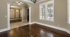 dark hardwood floors   Twelve Oaks Forest Product