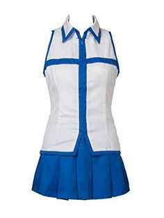 Cosfun Fairy Tail Lucy Heartfilia Cosplay Costume Mp002920 XXL -- Click image to review more details.